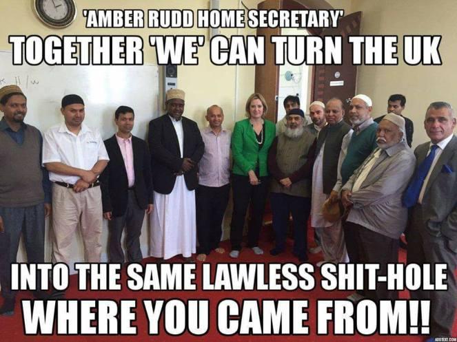 ! Amber Rudd